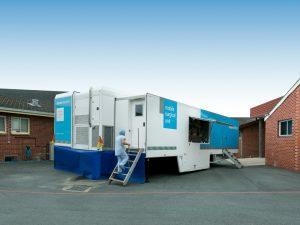Moruya Hospital, NSW - Aspen Medical Mobile Health unit